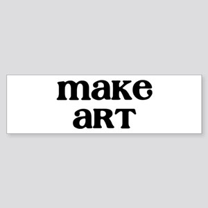 Make Art Sticker (Bumper)