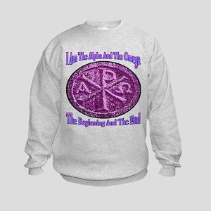 Chi Rho Alpha Omega Kids Sweatshirt