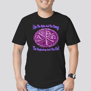 Chi Rho Alpha Omega Men's Fitted T-Shirt (dark)