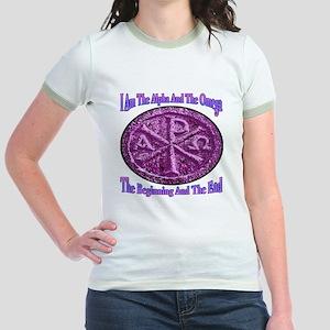 Chi Rho Alpha Omega Jr. Ringer T-Shirt