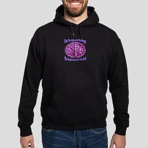 Chi Rho Alpha Omega Hoodie (dark)