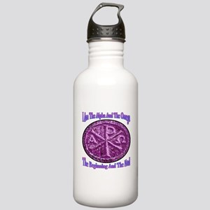 Chi Rho Alpha Omega Stainless Water Bottle 1.0L