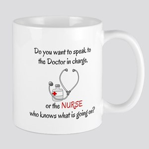 DO YOU WANT TO SPEAK TO THE DOCTOR OR T Mug