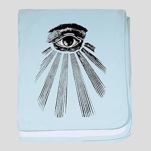 all seeing eye baby blanket