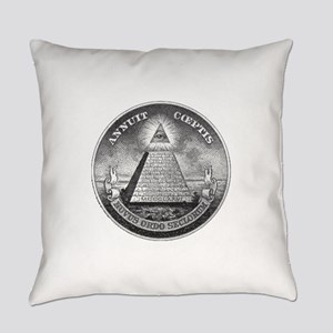All Seeing Eye Everyday Pillow