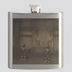 Egypt temple Flask