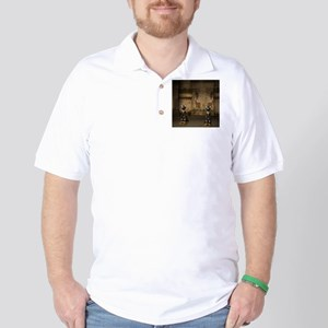 Egypt temple Golf Shirt