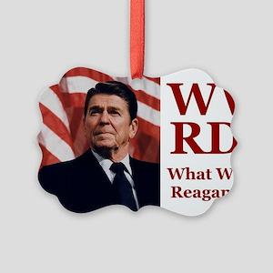 PRES40 WWRD? Picture Ornament