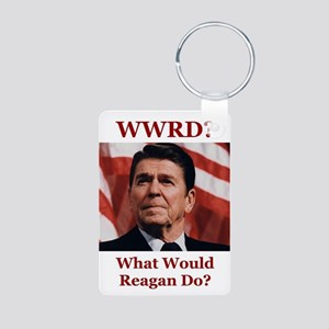 PRES40 WWRD? Aluminum Photo Keychain