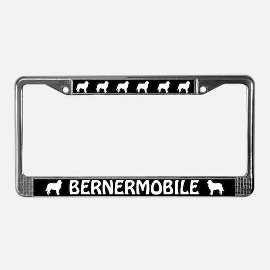 Bernermobile License Plate Frame