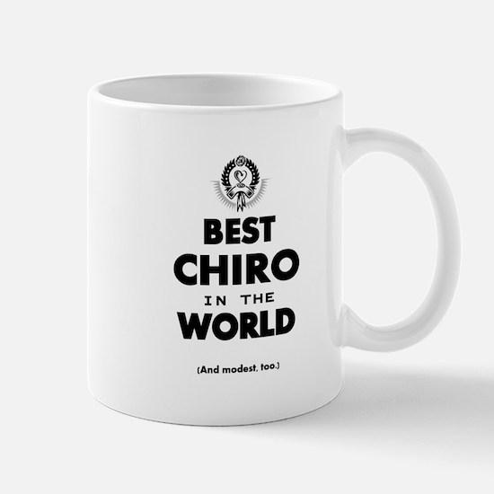 Best Chiro in the World Mugs