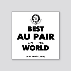 The Best in the World – Au Pair Sticker