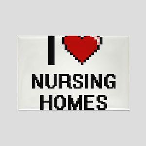I Love Nursing Homes Magnets