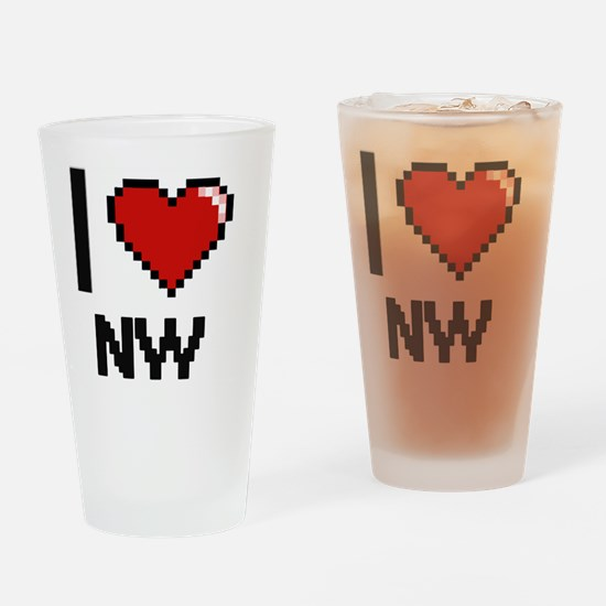 Cute Nwp Drinking Glass