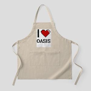 I Love Oasis Apron