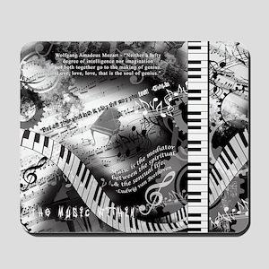 Classical Piano Art Musician Mozart Musi Mousepad
