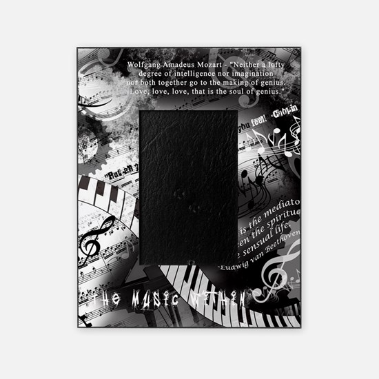 Classical Piano Art Musician Mozart Picture Frame