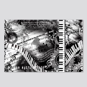 Classical Piano Art Music Postcards (Package of 8)