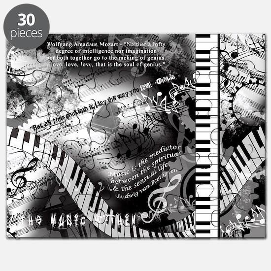 Classical Piano Art Musician Mozart Music A Puzzle