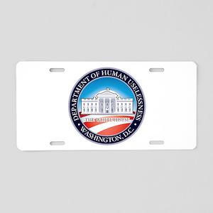 PRES44 DOHU Aluminum License Plate