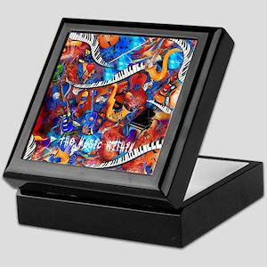 Juleez Music Theme Art Decor Music Lo Keepsake Box