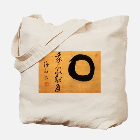 Torei Autumn Moon Enso Inzan Tote Bag
