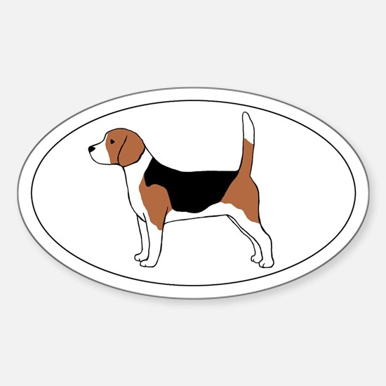 Beagle Dog Decal