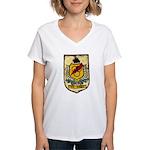 USS HIGBEE Women's V-Neck T-Shirt