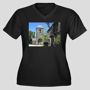 Church of Santa Maria, O'Cebreir Plus Size T-Shirt