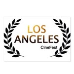 Los Angeles Cine Fest Postcards (Package of 8)
