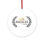 Los Angeles Cine Fest Round Ornament