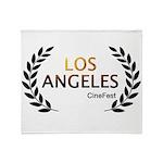 Los Angeles Cine Fest Throw Blanket