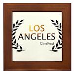 Los Angeles Cine Fest Framed Tile