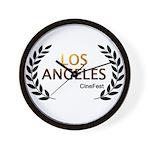 Los Angeles Cine Fest Wall Clock