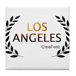 Los Angeles Cine Fest Tile Coaster