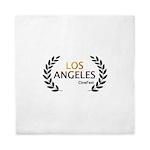 Los Angeles Cine Fest Queen Duvet