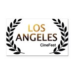 Los Angeles Cine Fest Rectangle Car Magnet