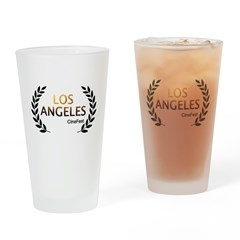 Los Angeles Cine Fest Drinking Glass