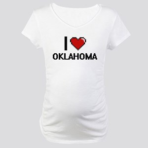 I Love Oklahoma Maternity T-Shirt