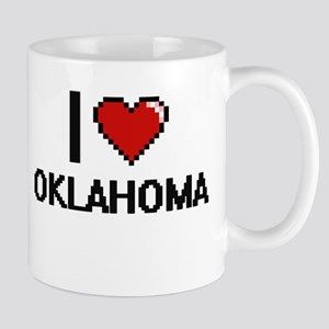 I Love Oklahoma Mugs