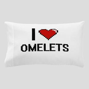I Love Omelets Pillow Case