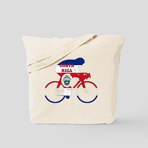 Costa Rica Cycling Tote Bag