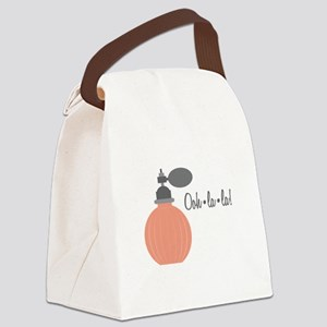 Ooh La La Canvas Lunch Bag