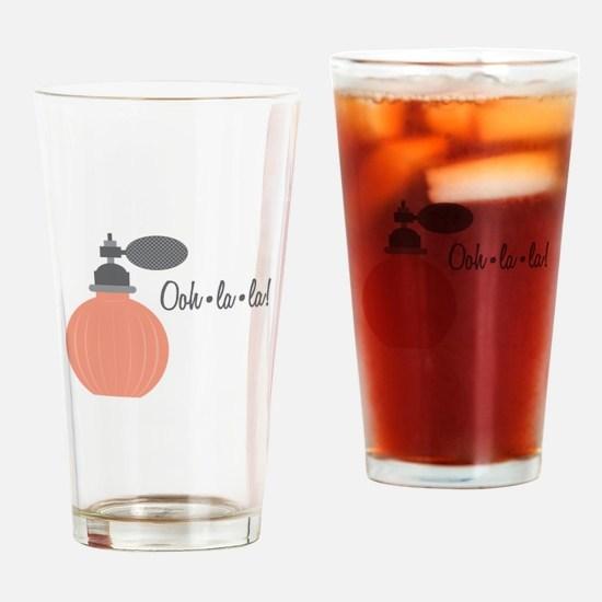 Ooh La La Drinking Glass