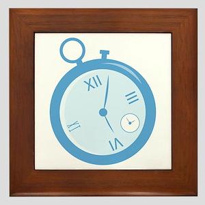 Stopwatch Framed Tile