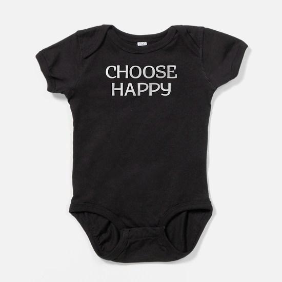 Choose Happy Baby Bodysuit