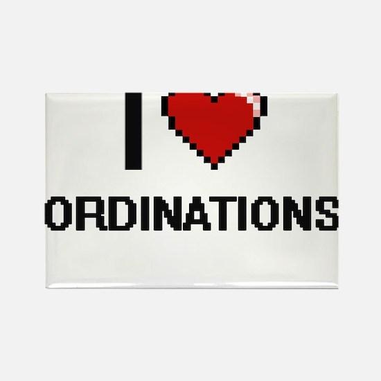 I Love Ordinations Magnets