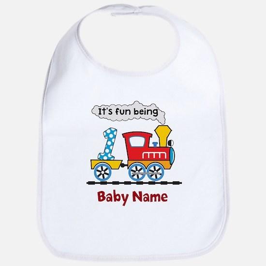 baby 1st Birthday custom add name Bib
