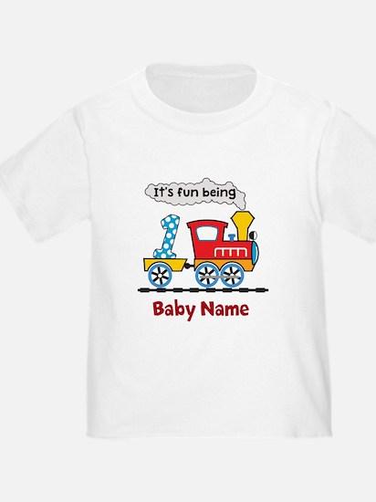 baby 1st Birthday custom add name T