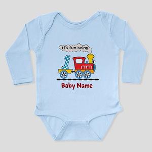 baby 1st Birthday cust Long Sleeve Infant Bodysuit